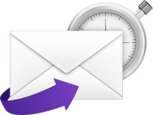 Scheduled email marketing